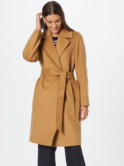Palton de primăvară-toamnă TOMMY HILFIGER pe nisipiu, Vizualizare model
