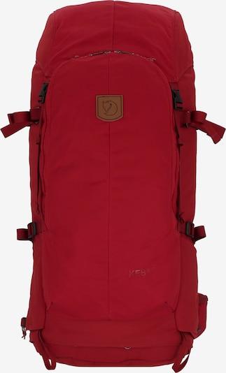 Fjällräven Rucksack in rot, Produktansicht