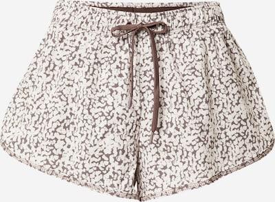 Cotton On Sportbroek 'LIFESTYLE MOVE' in de kleur Crème / Aubergine, Productweergave