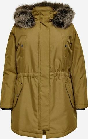 ONLY Carmakoma Talviparka 'Irena' värissä keltainen