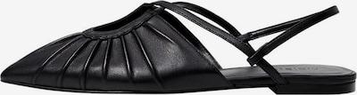 Sandale VIOLETA by Mango pe negru, Vizualizare produs