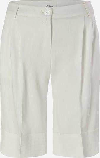 s.Oliver BLACK LABEL Pantalon en blanc, Vue avec produit