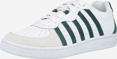 K-SWISS Sneaker 'Westcourt' in beige / grün / weiß, Produktansicht