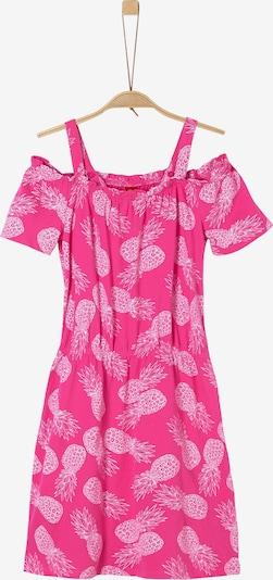 s.Oliver Kleid in pink / weiß, Produktansicht