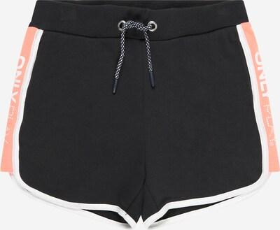 KIDS ONLY Shorts 'MANOLA' in rosa / schwarz / weiß, Produktansicht