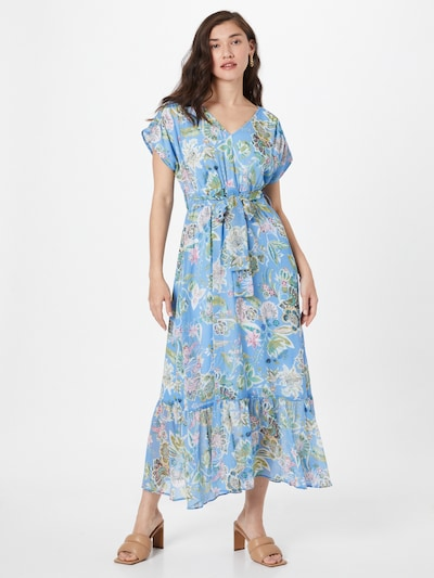 Orsay Kleit helesinine / segavärvid, Modellivaade