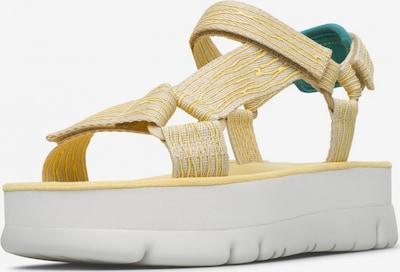 CAMPER Sandalen in gelb, Produktansicht