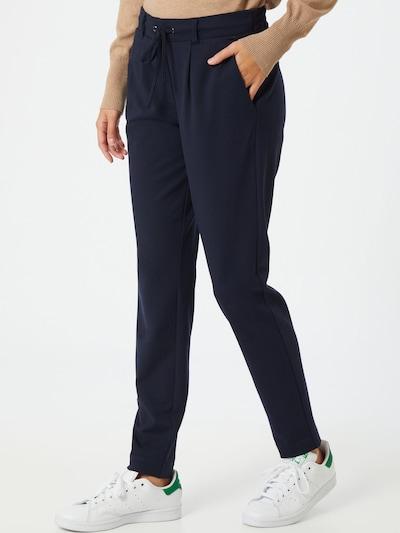 TOM TAILOR Kalhoty se sklady v pase - tmavě modrá, Model/ka