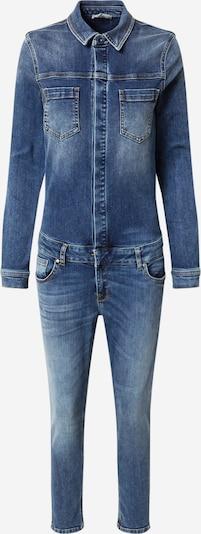LTB Jumpsuit 'Nancie X' i blue denim, Produktvisning