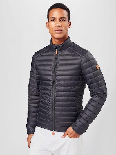 SAVE THE DUCK Prijelazna jakna u crna: Prednji pogled