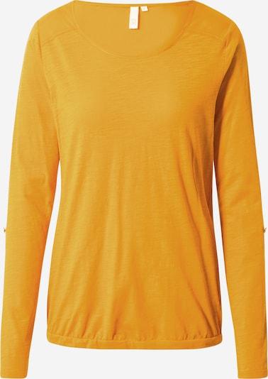Q/S designed by Shirt in goldgelb, Produktansicht