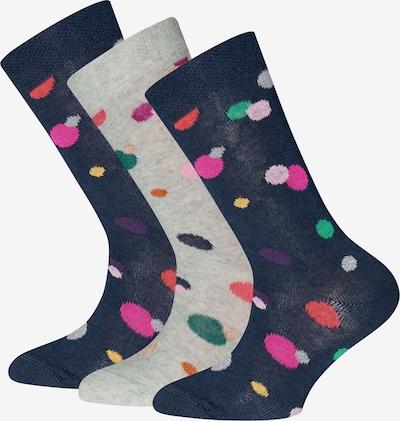 EWERS Skarpety w kolorze ciemny niebieski / jasnoszary / jasnozielony / mieszane kolory / jasnoróżowym, Podgląd produktu