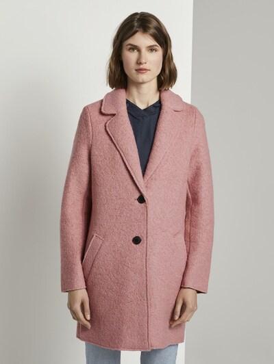 TOM TAILOR Talvemantel roosa, Modellivaade
