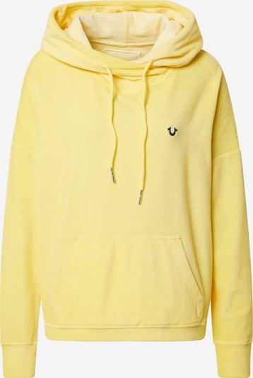 True Religion Sweatshirt in de kleur Lichtgeel, Productweergave