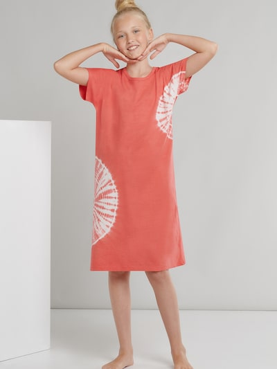 SCHIESSER Nachthemd ' Natural ' in de kleur Rood, Productweergave