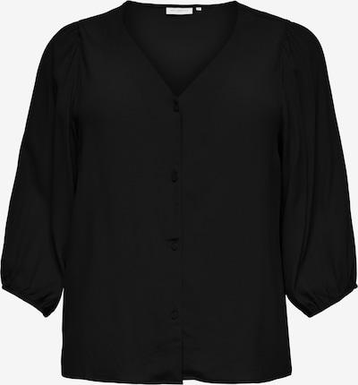 ONLY Carmakoma Blouse 'Dazz' in de kleur Zwart, Productweergave