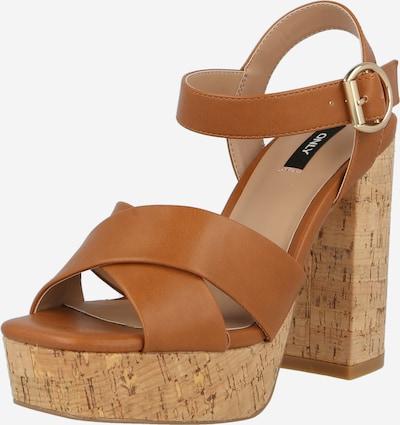 Sandale 'ATUMN' ONLY pe coniac, Vizualizare produs