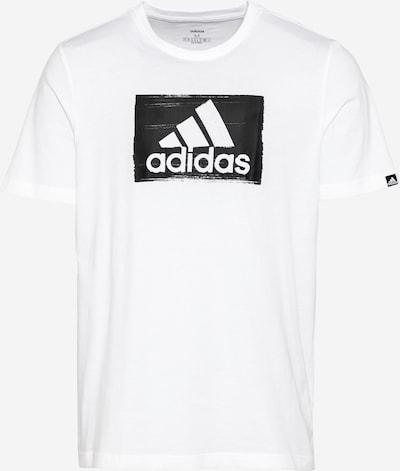 ADIDAS PERFORMANCE Funkcionalna majica | črna / bela barva, Prikaz izdelka