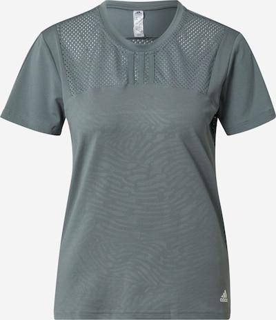 ADIDAS PERFORMANCE Functioneel shirt 'UFORU' in de kleur Blauw / Wit, Productweergave