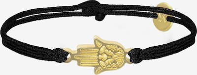 Ukiyyo Armband in de kleur Zwart: Vooraanzicht