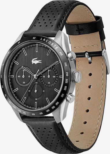 LACOSTE Аналогов часовник в черно / сребърно, Преглед на продукта