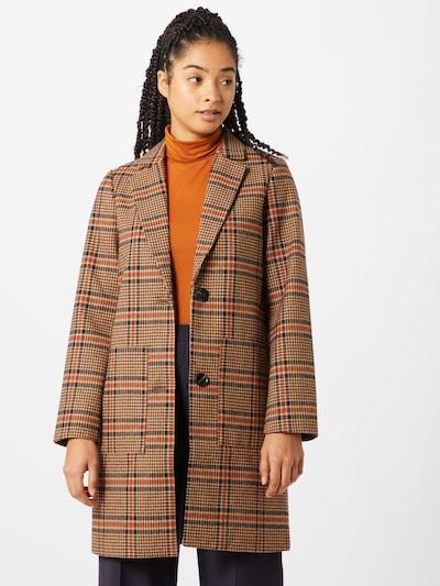Rudeninis-žieminis paltas iš TOM TAILOR DENIM , spalva - mėlyna / ruda, Modelio vaizdas