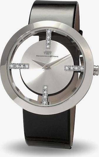 Rhodenwald & Söhne Analog-Armbanduhr in schwarz, Produktansicht