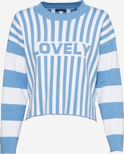 ONE MORE STORY Sweater in Light blue / White, Item view
