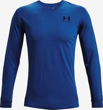 UNDER ARMOUR Sportshirt in Blau