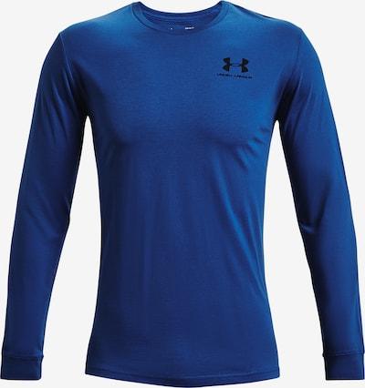 UNDER ARMOUR Sportshirt in blau / schwarz, Produktansicht