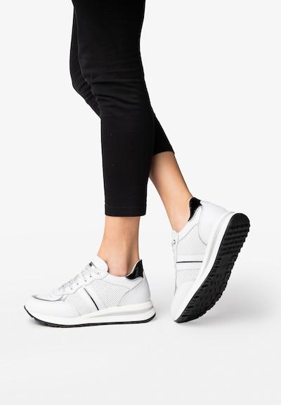 NOCLAIM Sneaker 'LORY 1' in weiß: Frontalansicht