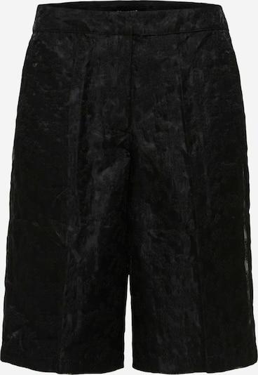 Pantaloni SELECTED FEMME pe negru, Vizualizare produs