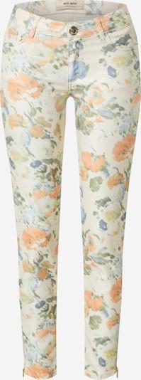 MOS MOSH Hose 'Victoria Dazzle' in rauchblau / hellblau / grün / apricot / weiß, Produktansicht