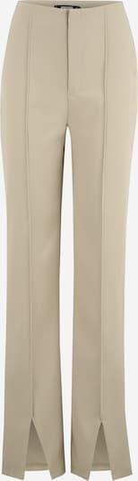 Pantaloni Missguided Tall pe alb kitt / kaki, Vizualizare produs