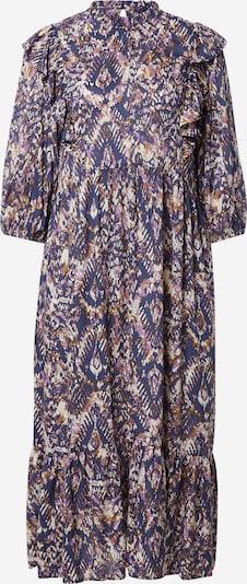 Lollys Laundry Kleid 'Cana' in karamell / helllila / dunkellila / weiß, Produktansicht