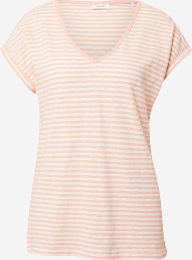 Marc O'Polo DENIM T-shirt en pêche / blanc, Vue avec produit