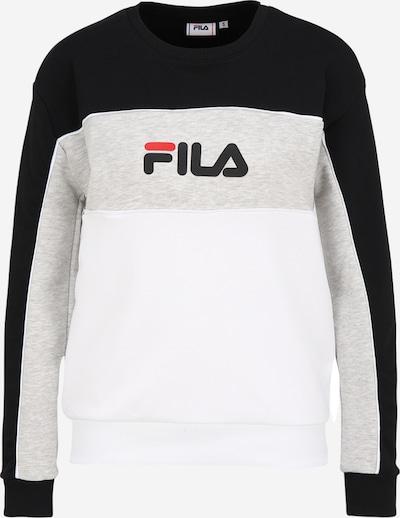 FILA Sweatshirt 'AMINA' in Grey / Black / White, Item view