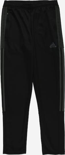 ADIDAS PERFORMANCE Спортен панталон 'TIRO' в тъмнозелено / черно, Преглед на продукта
