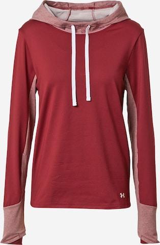 UNDER ARMOUR Sportsweatshirt in Rot