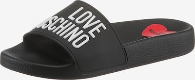 Love Moschino Šľapky - čierna / biela, Produkt