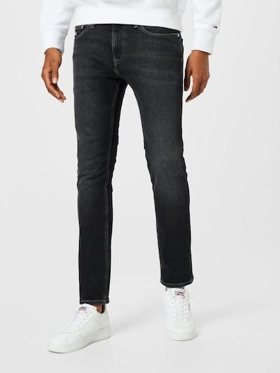 Jeans 'SCANTON' Tommy Jeans pe negru denim, Vizualizare model