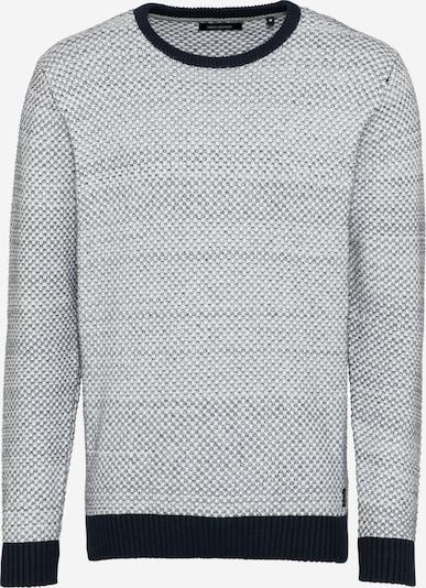 SHINE ORIGINAL Pullover in navy / offwhite, Produktansicht