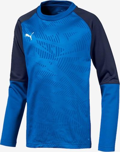 PUMA Sweatshirt in blau: Frontalansicht