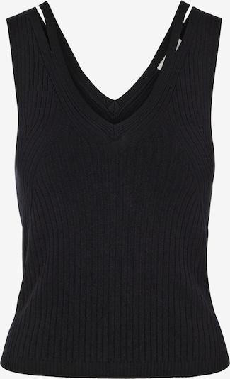 OBJECT Tops en tricot 'Rosalia' en noir, Vue avec produit