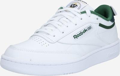Reebok Classic Sneaker 'Club C 85' in grasgrün / schwarz / weiß, Produktansicht