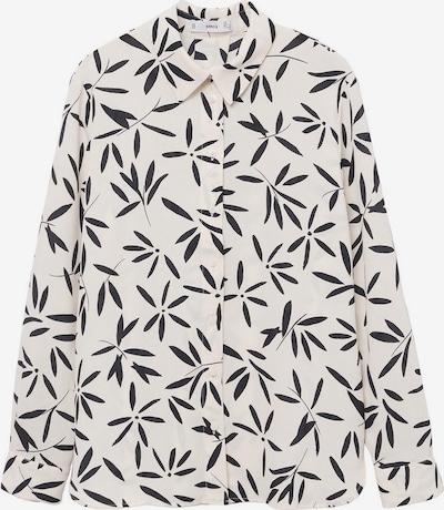 Bluză MANGO pe negru / alb, Vizualizare produs