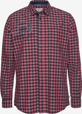 Tom Tailor Polo Team Hemd in Rot