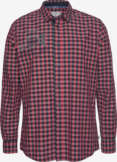 Tom Tailor Polo Team Hemd in rot, Produktansicht