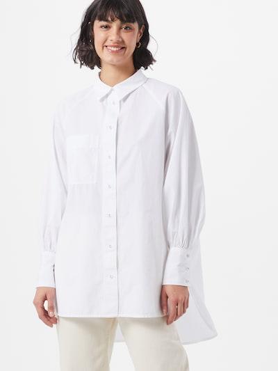 ONLY Bluse i hvid, Modelvisning