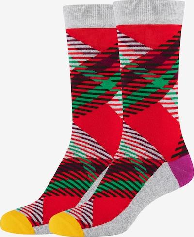 FUN Socks Socken in rot, Produktansicht